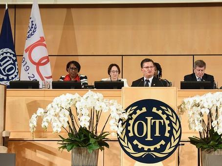 Diálogo social, trabajo decente y corresponsabilidad familiar propuso Costa Rica ante la OIT