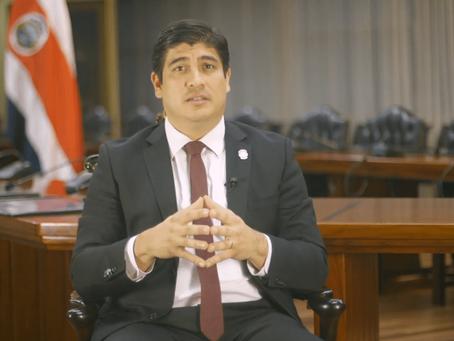 Costa Rica:Empleo, reactivación, diálogo, agenda de inclusión social, reformas al Estado y educación