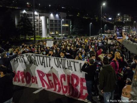 Protestas en Europa contra restricciones por COVID-19, que pueden durar meses