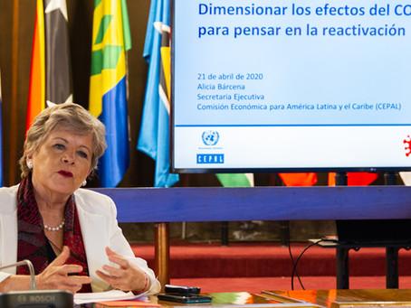COVID-19 llevará a mayor contracción de la economia en la historia de la Región caerá -5,3% en 2020