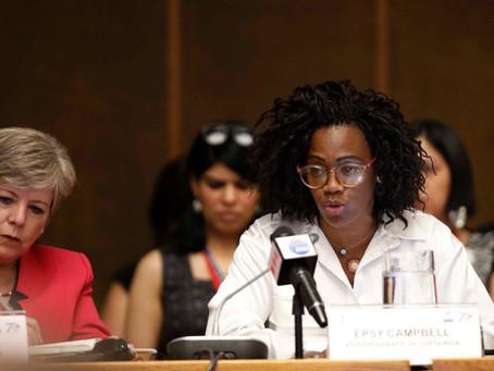 Costa Rica llama a unir esfuerzos para incorporar más mujeres en las economías de AL y El Caribe
