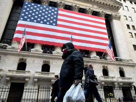 Wall Street abre con fuertes caídas pese a los estímulos
