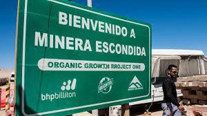 BHP prevé retraso en expansión de mina Spence en Chile debido a coronavirus