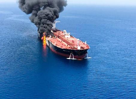 El petróleo se dispara tras ataques contra buques cisterna en el Golfo
