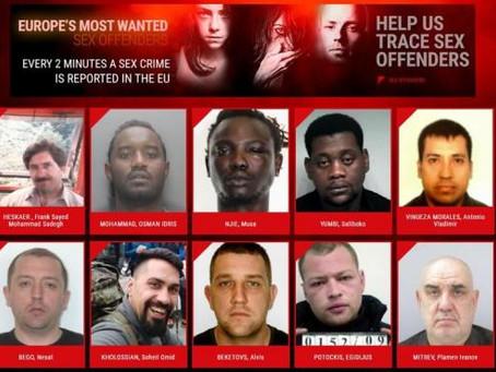 Cada 2 minutos se denuncia un delito sexual en Europa,  Campaña de Europol para capturar agresores