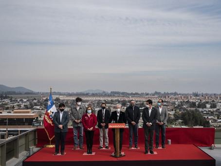 """Chile """" Pdte Piñera lanza descuento en la tarifa eléctrica de calefacción para 10 comunas"""