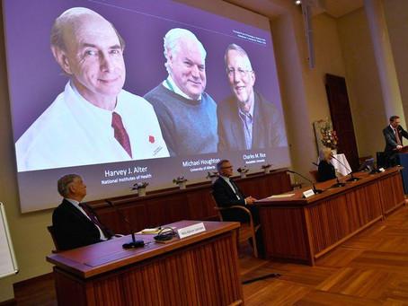 Científicos que ayudaron a identificar virus de la hepatitis C ganan Premio Nobel de Medicina 2020
