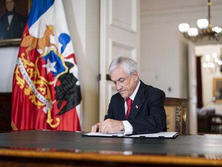 Presidente Piñera promulga ley de paridad de género en proceso constitucional