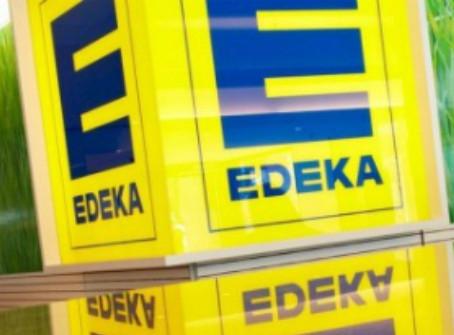 Edeka y su robot que ayuda a mantener la distancia de seguridad
