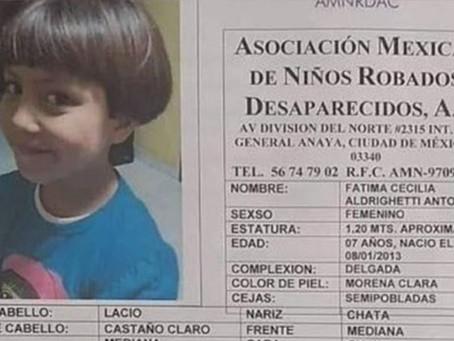 Detienen a presuntos feminicidas de Fátima en el Edomex
