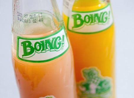 ¿Cuánta fruta real tienen los jugos como el Boing?