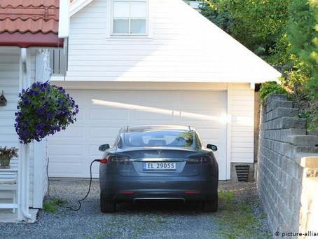 Noruega supera 50 por ciento de coches eléctricos vendidos