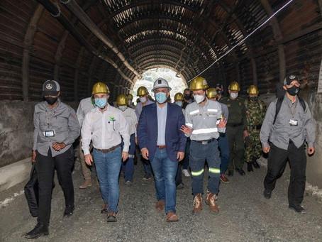 Colombia inaugura mina de oro Buriticá de grupo chino Zijin