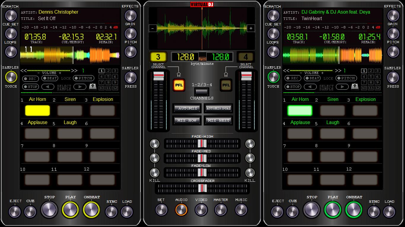 Virtual dj loops and samples free download