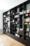 Bibliothèques et mobilier sur mesure, bureau d'étude et entreprise générale, grandes marques de la décoration - Waterloo, Belgique
