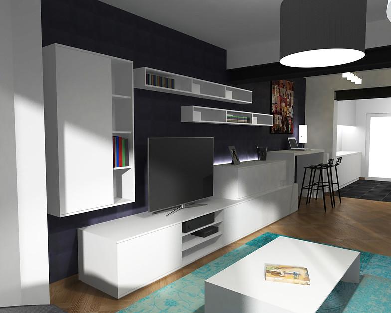 Insign Meubles Tv Sur Mesure Architecture D Interieur