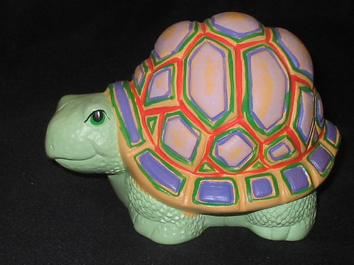Turtle with tall shell
