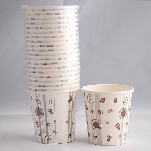 Single Wall Paper Cup  4 Oz. -  كاسات / اكواب ورقية ٤ اونز المقوى أملس