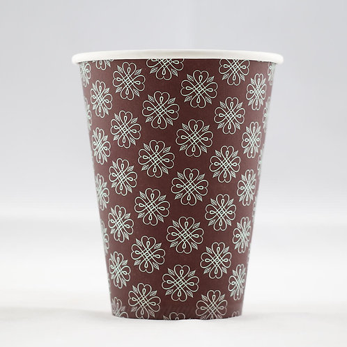 Single Wall Paper Cup 12 oz. - كوب جدار أملس 12 أوقية