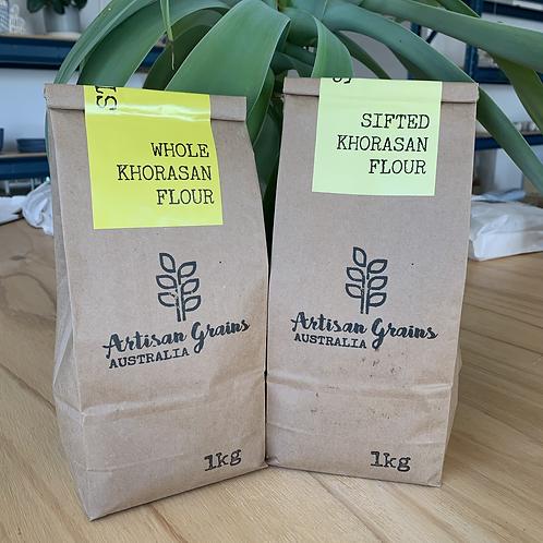 Stoneground 100% Whole KHORASAN Flour