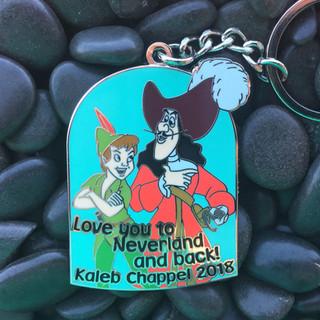 Peter Pan Keychain