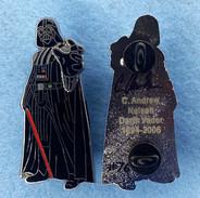 Autographed Darth Vader