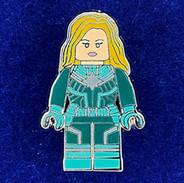 Lego Captain Marvel Green