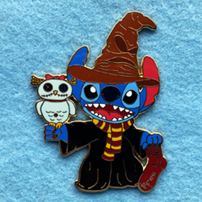 Harry Potter Stitch with Scrump