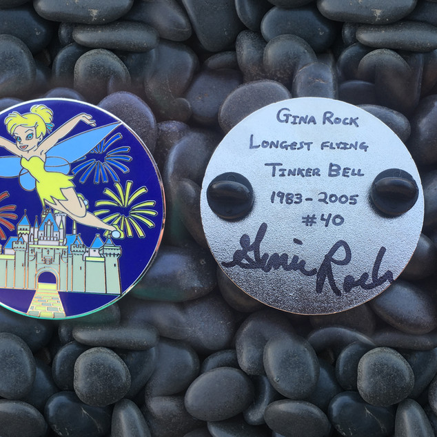 Autographed Tink Pin