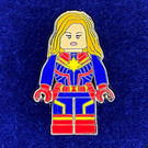 Lego Captain Marvel Red & Blue