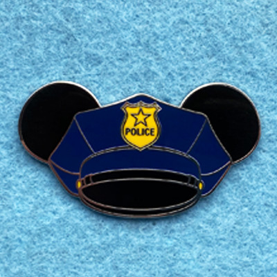 Police Mickey Ears Hat