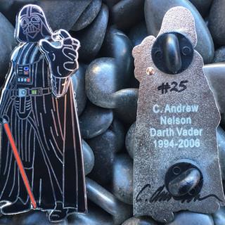 Darth Vader Autographed