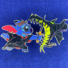 Stitch and Maleficent