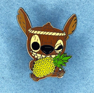 Tiki Stitch with Pineapple