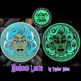 Glowing Madame Leota