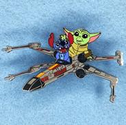 Stitch & The Child X-Wing