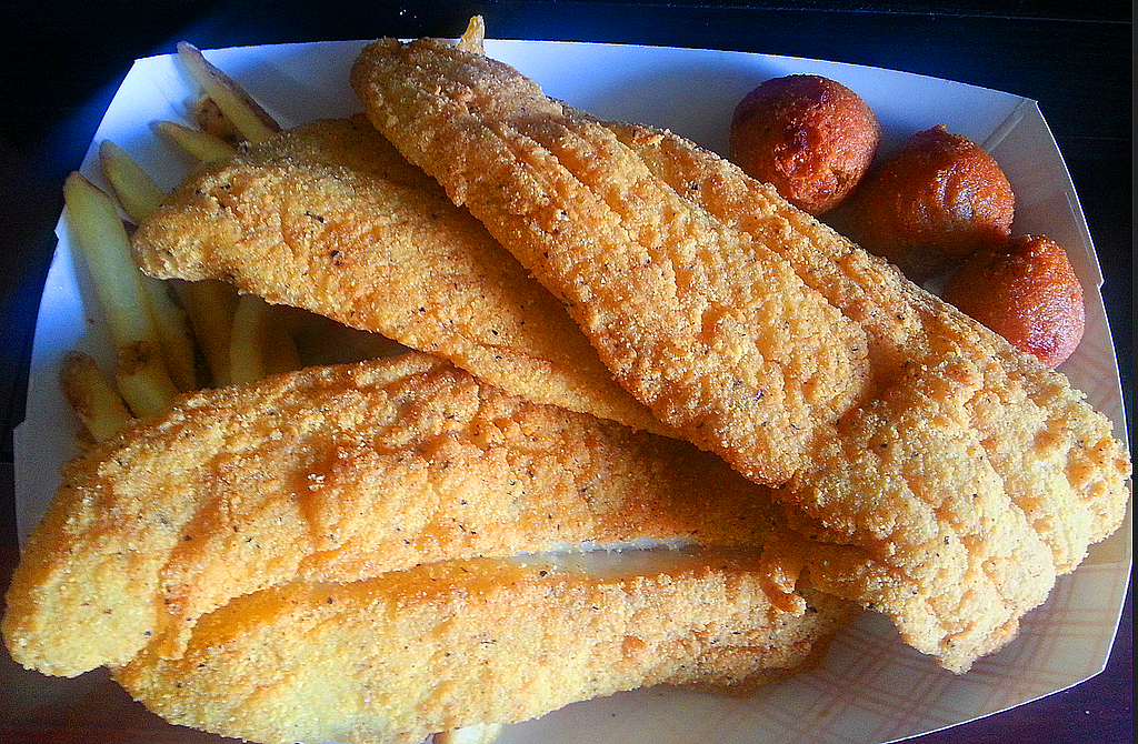 Shrimp N Stuff Fried Catfish