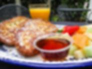 Breakfast at Shrimp N Stuff Downtwon