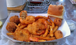 Shrimp N stuff fried Shrimp