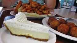 hushpuppies, Cheese Cake