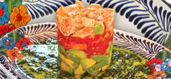 Shrimp Salad Stack