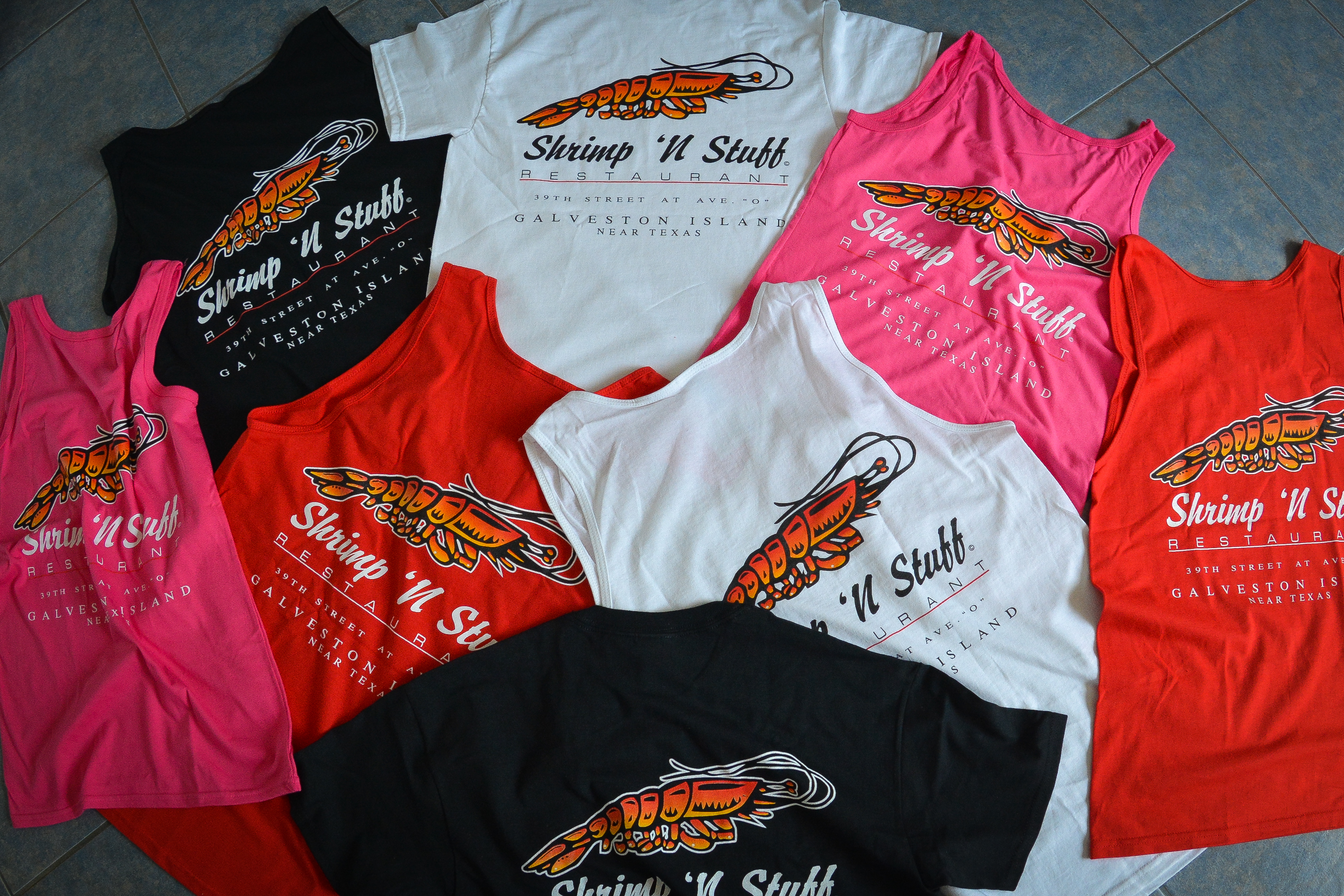 Shrimp N Stuff Shirts