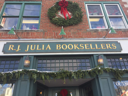"Now Facilitating open mike at R.J. Julia Booksellers ""Voices"" in the Bookstore"