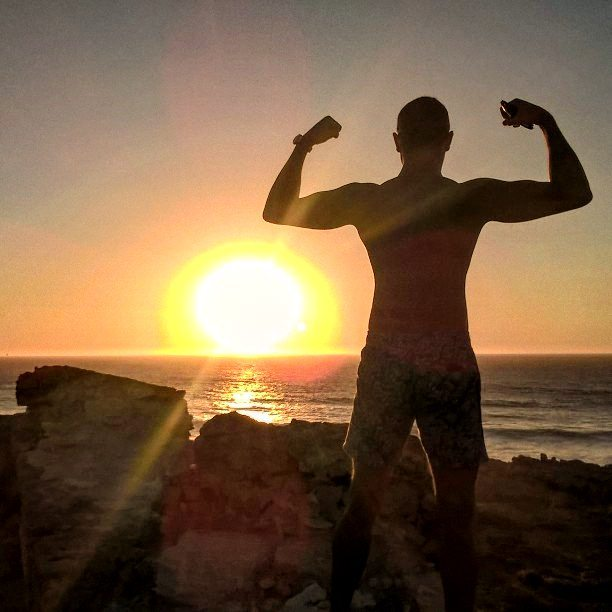 Portuguese Sunset 🌇 ♥ 💪 🌟 ⚡__#hastings__#fitfamily__#bodytransformation__#healthydiet__#fitfreak_