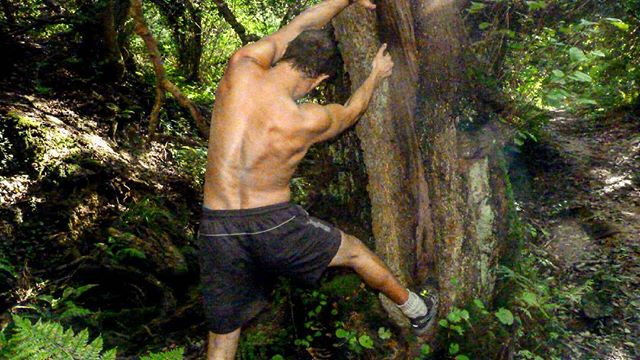 Nothing quite like our natural gym!! I can't just go for a simple walk,  to get a real feel of natur