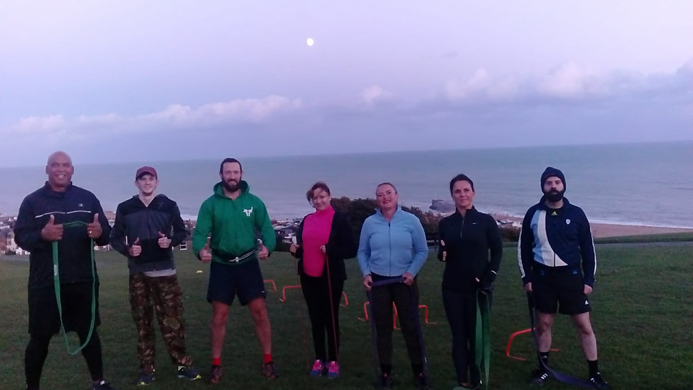 Turnbull Training West Hill Hastings UK Fitness Group - Power and agility session