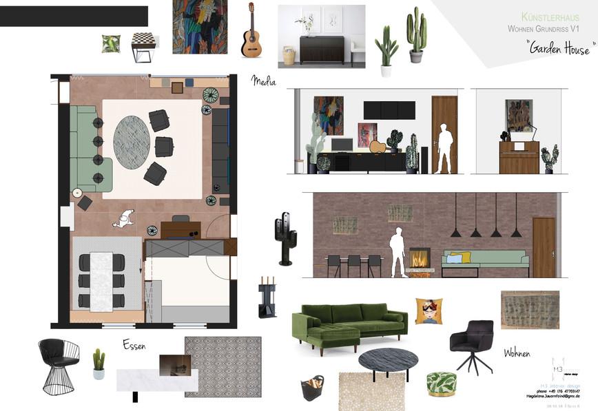Künstlerhaus München m3 interior design