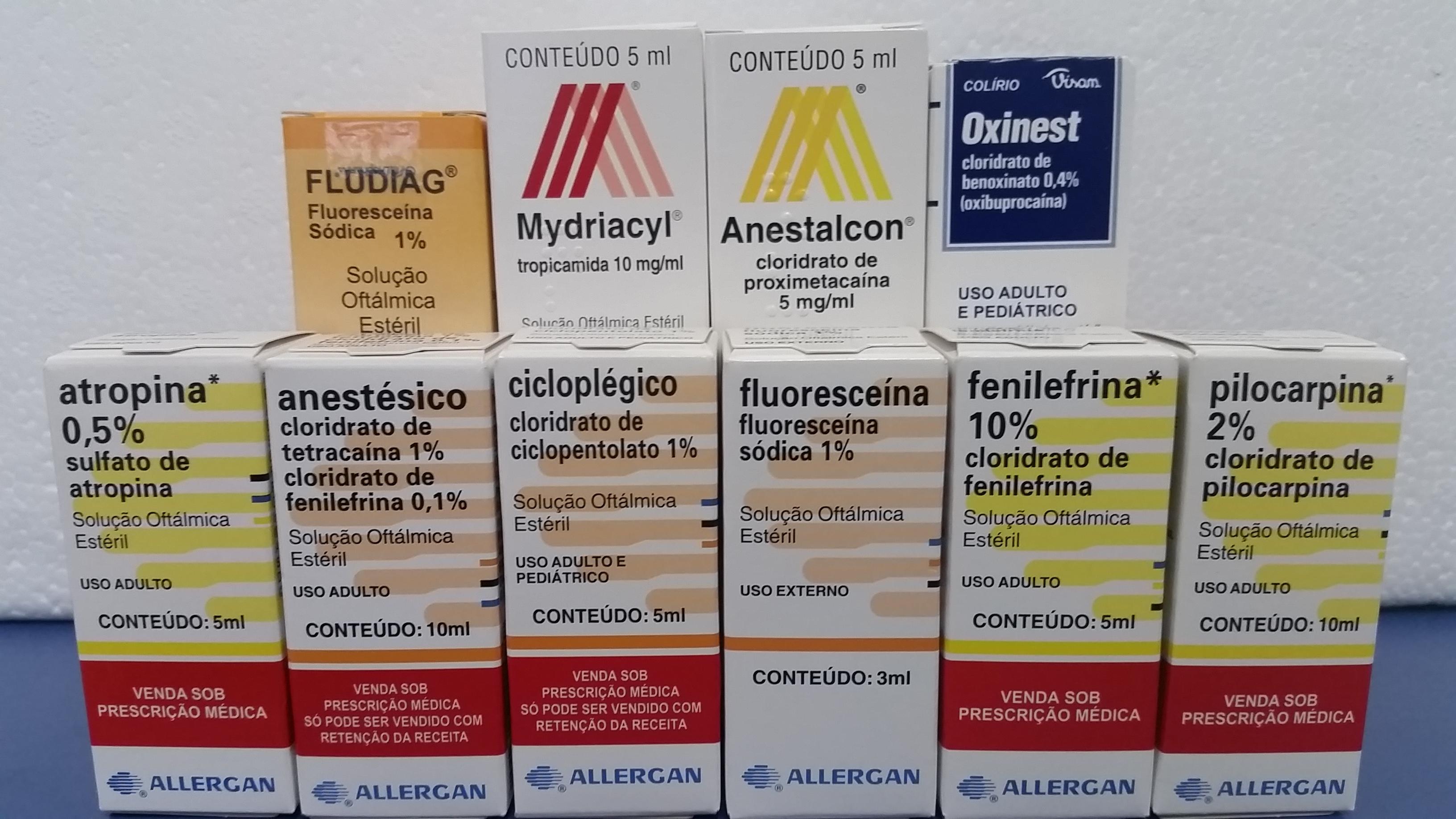 colírios