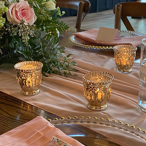 Fancy gold votives