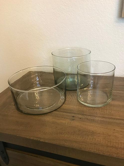 Variety round vases